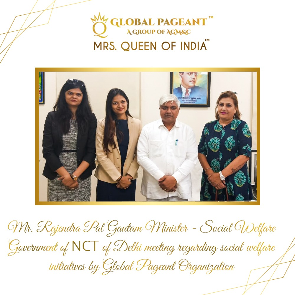 mrs queen of india, global pageant, mrs india